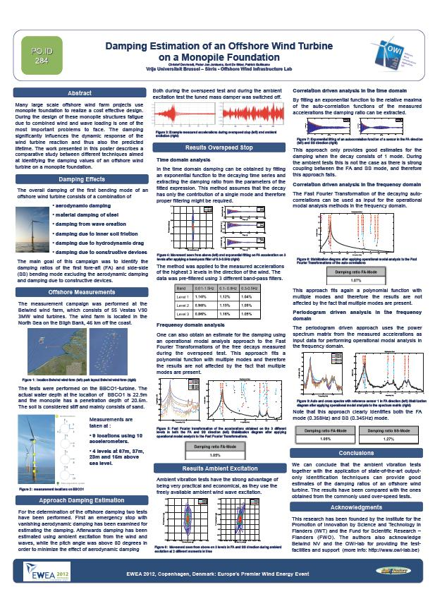 Owi Lab Awarded For Best Scientific Poster During Ewea